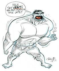 Hulk NO GRANDE by tombancroft