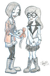 Daria and Jane by tombancroft