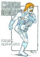 Chuck Norris by tombancroft