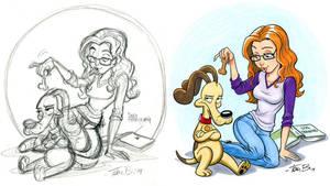 Dog Training Commission by tombancroft