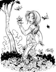 Autumn Leaves Me Alone! by tombancroft