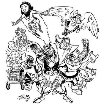 The X-Dwarves by tombancroft