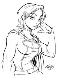 PowerGirl , Alluring by tombancroft