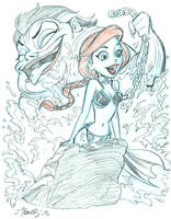Slave Ariel by tombancroft