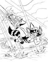 Rocket on the Run by tombancroft