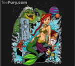 Mermaid Wars design by tombancroft