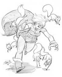 Squirrel Girl by tombancroft