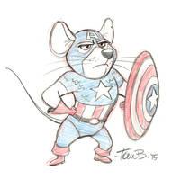 Captain Ameri-Mouse by tombancroft