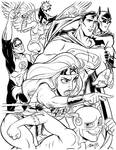 Justice League by tombancroft