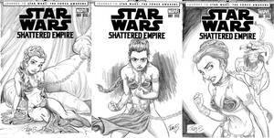 Star Wars Sketch Covers by tombancroft