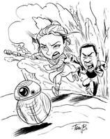 Force Awakens fan art by tombancroft