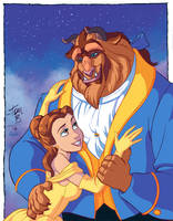 Belle and Beast by tombancroft