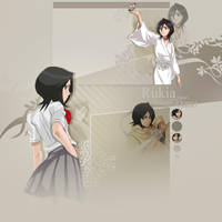 Rukia FREE youtube background by demeters