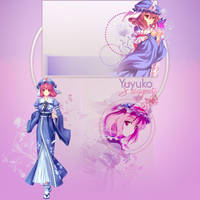 Yuyuko FREE Youtube BG by demeters