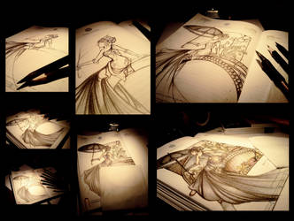 Drawing by demeters