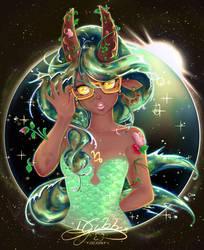 Capricorn - Horoscope Sign w/ Glasses Series by lDestiny