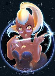 Sagittarius - Horoscope Signs w/ Glasses Series by lDestiny