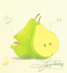 Lol Wut Pear by lDestiny