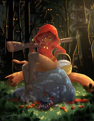 Red Riding Huntress by lDestiny
