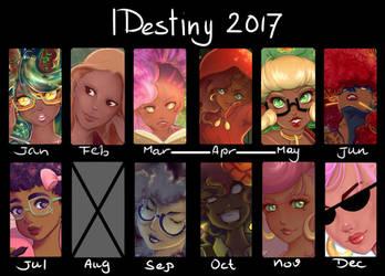 Art Summary 2017 by lDestiny