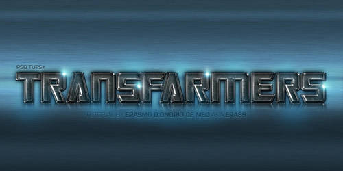 Tutorial - Create a Transformers Text Effect by KoolGfx