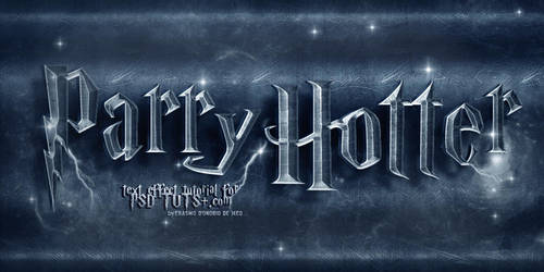 Harry Potter Text Effect Tutorial by KoolGfx