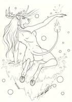 Mystic Djirin by moonfeather