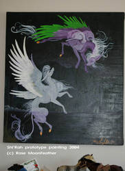 SeihRah old Painting 2004 by moonfeather