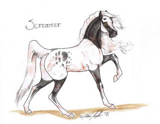 Screamer character by moonfeather