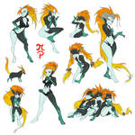 Midna Sisters by ManiacPaint