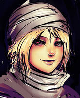 Sheik Face by ManiacPaint