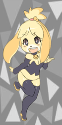 Isabelle XD by ManiacPaint