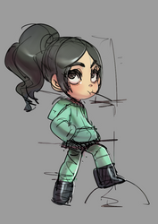 Vanellope x by ManiacPaint