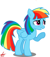 Rainbow Dash is Twilight'ish by Grandilfromponychan