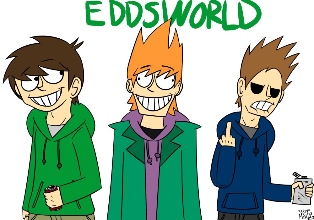 Edd X Tom X Matt: Eddsworld Edd, Matt And Tom Doodle By ThatDudeMintZ On