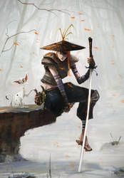 Samurai_Cat by AlexanderBrox0101