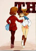 Haruhi Suzumiya Spanking by SpankingHatsuneMiku