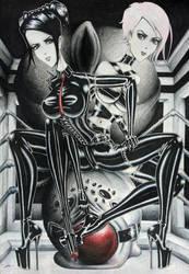 Spider porn by Gray-Eel