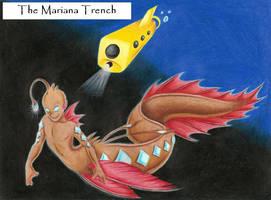 Deep Sea Postcard by angelfish1021