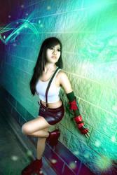 Final Fantasy VII Remake - Tifa Cosplay by CrystalMoonlight1