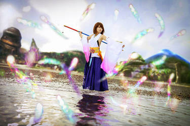 Yuna - The Sending by CrystalMoonlight1