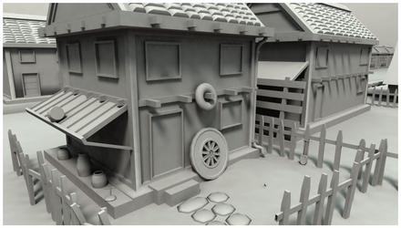 Little Town - Old model by JonathonDobbs