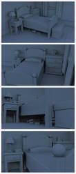 Freckle's Room WIP by JonathonDobbs