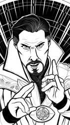 Doctor Strange by JonathonDobbs