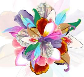 Flower Petal Collab by vexelove
