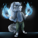 .:Blue Flames:. .:AT:. by TimberFluff