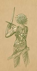 Aesling's Tattoos (headcanon) by TenLongFingers