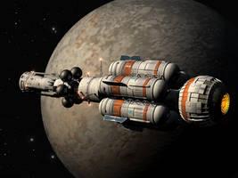 starship by Paul-Lloyd