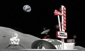 Googie Moonbase by Paul-Lloyd