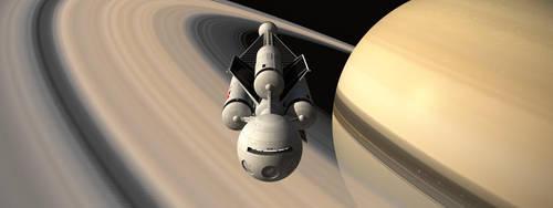 Discovery Saturn Again by Paul-Lloyd